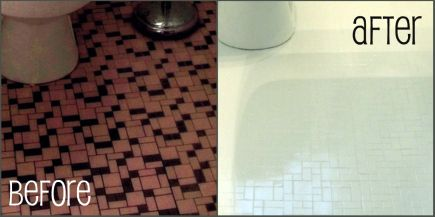 But In The Meantime Here S A Sneak Peek At My New Tile Floor